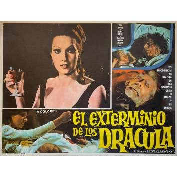 COUNT DRACULA'S GREAT LOVE Original Lobby Card N3 - 11x14 in. - 1973 - Javier Aguirre, Paul Naschy