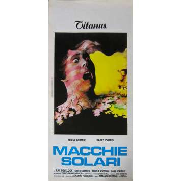 FRISSONS D'HORREUR Affiche de film - 33x71 cm. - 1975 - Mimsy Farmer, Armando Crispino