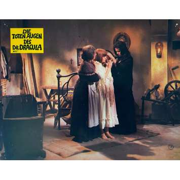 KILL BABY KILL! Original Lobby Card N2 - 9x11,5 in. - 1966 - Mario Bava, Erika Blanc