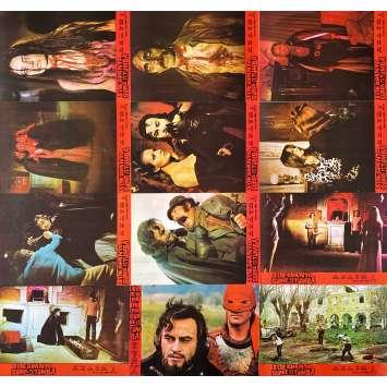 EL ESPANTO SURGE DE LA TUMBA Photos de film x12 - 23x32 cm. - 1973 - Paul Naschy, Carlos Aured