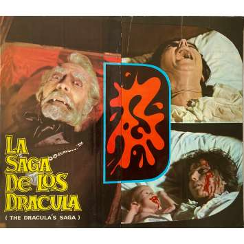 COUNT DRACULA'S GREAT LOVE Original Pressbook - 9x12,5 in. - 1973 - Javier Aguirre, Paul Naschy