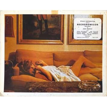 SUCCUBUS Original Lobby Card - 10x12 in. - 1968 - Jesús Franco, Janine Reynaud