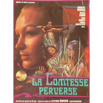 COUNTESS PERVERSE Original Herald 2p - 9x12 in. - 1974 - Jesús Franco , Alice Arno