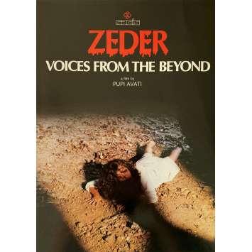 ZEDER Original Pressbook 8p - 9x12 in. - 1983 - Pupi Avati, Gabriele Lavia