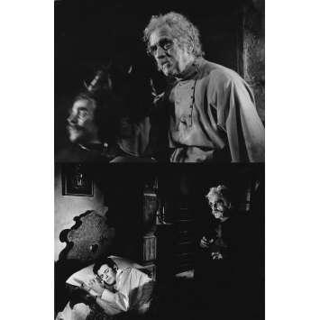 LES TROIS VISAGES DE LA PEUR Photo de presse x2 - 20x25 cm. - 1963 - Michèle Mercier, Mario Bava