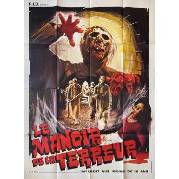 LE MANOIR DE LA TERREUR Affiche de film - 120x160 cm. - 1963 - Gérard Tichy, Alberto De Martino