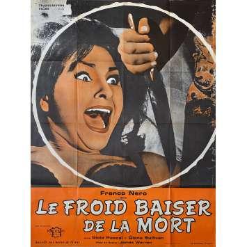 LE FROID BAISER DE LA MORT Affiche de film - 120x160 cm. - 1966 - Franco Nero, Mino Guerrini