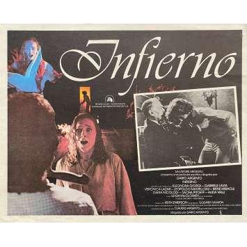 INFERNO Original Lobby Card - 11x14 in. - 1980 - Dario Argento, Daria Nicolodi