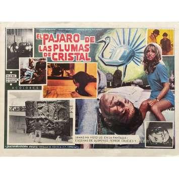 THE BIRD WITH THE CRYSTAL PLUMAGE Original Lobby Card - 11x14 in. - 1970 - Dario Argento, Tony Musante