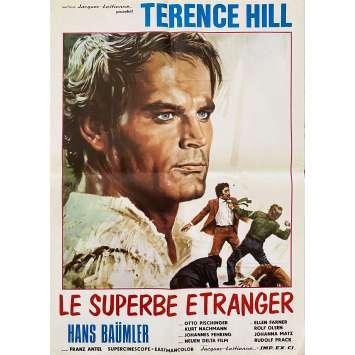 RÜF DER WÄLDER Original Movie Poster- 20x28 in. - 1965 - Franz Antel, Terence Hill