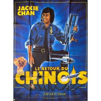 LE RETOUR DU CHINOIS Affiche de film- 120x160 cm. - 1985 - Jackie Chan, James Glickenhaus