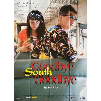 GOODBYE SOUTH GOODBYE Affiche de film- 120x160 cm. - 1996 - Jieh-Wen King, Hsiao-Hsien Hou
