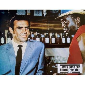 DR. NO Original Lobby Card- 9x12 in. - R1970 - James Bond 007, Sean Connery