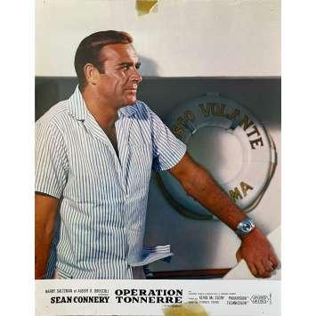 OPERATION TONNERRE Photo de film- 21x30 cm. - 1965 - Sean Connery, James Bond