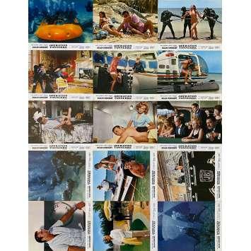 OPERATION TONNERRE Photos de film x15 - 21x30 cm. - 1965 - Sean Connery, James Bond