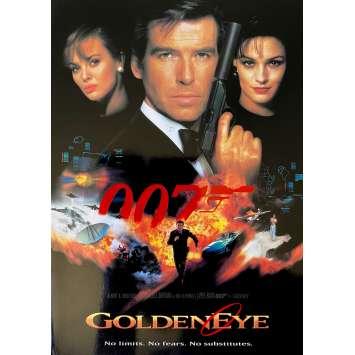 GOLDENEYE Original Herald- 9x12 in. - 1995 - James Bond, Pierce Brosman