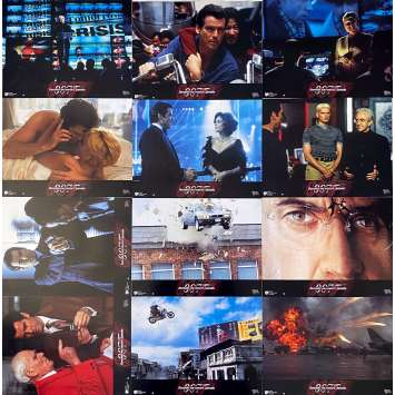 DEMAIN NE MEURT JAMAIS Photos de film x12 - 21x30 cm. - 1997 - Pierce Brosnan, Roger Spottiswoode