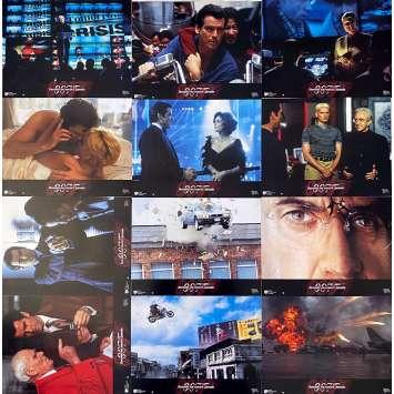 TOMORROW NEVER DIES Original Lobby Cards x12 - 9x12 in. - 1997 - James Bond 007, Pierce Brosnan