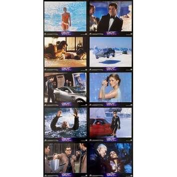DIE ANOTHER DAY Original Lobby Cards x10 - 11x14 in. - 2002 - James Bond 007, Pierce Brosnan