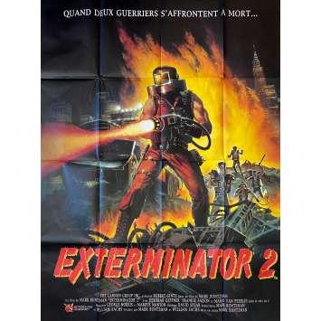 EXTERMINATOR 2 Original Movie Poster- 47x63 in. - 1984 - Mark Buntzman, Robert Ginty