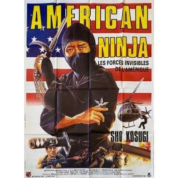 AMERICAN NINJA Affiche de film- 120x160 cm. - 1985 - Sho Kosugi, Emmett Alston