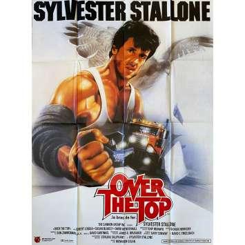 OVER THE TOP Affiche de film- 120x160 cm. - 1987 - Sylvester Stallone, Menahem Golan