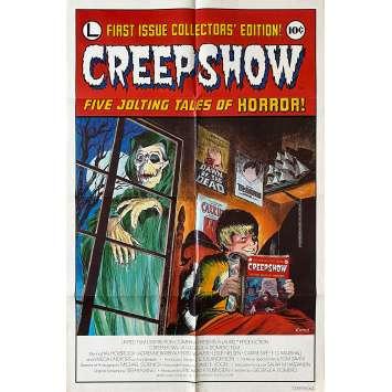 CREEPSHOW Affiche de film- 69x102 cm. - 1982 - Leslie Nielsen, George A. Romero