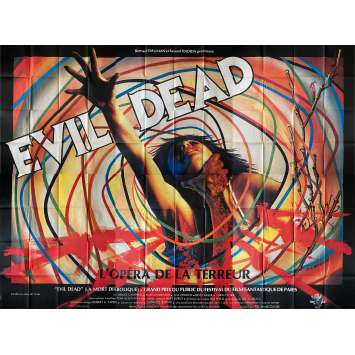 THE EVIL DEAD Original Movie Poster- 158x118 in. - 1981 - Sam Raimi, Bruce Campbell