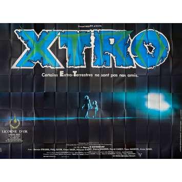 XTRO Affiche de film- 400x300 cm. - 1982 - Philip Sayer, Harry Bromley Davenport