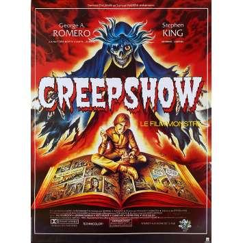 CREEPSHOW Original Movie Poster- 15x21 in. - R1990 - George A. Romero, Leslie Nielsen
