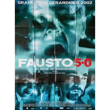 FAUSTO 5.0 Original Movie Poster- 47x63 in. - 2001 - Alex Ollé, Miguel Angel Sola