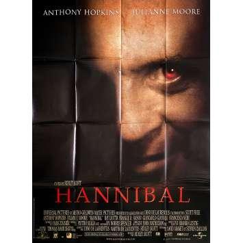 HANNIBAL Original Movie Poster- 47x63 in. - 2013 - Bryan Fuller, Mads Mikkelsen