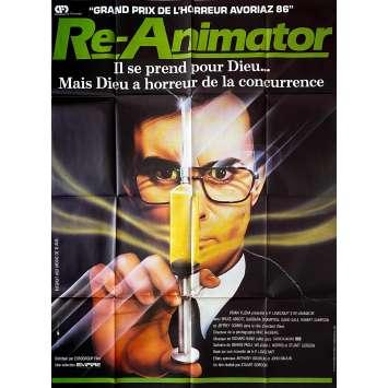 RE-ANIMATOR Affiche de film- 120x160 cm. - 1985 - Jeffrey Combs, Stuart Gordon