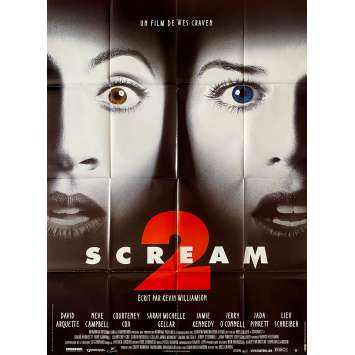 SCREAM 2 Original Movie Poster- 47x63 in. - 1997 - Wes Craven, Neve Campbell