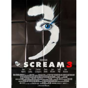 SCREAM 3 Affiche de film- 120x160 cm. - 2000 - Neve Campbell, Wes Craven