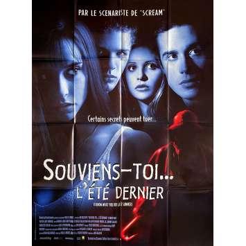 I KNOW WHAT YOU DID LAST SUMMER Original Movie Poster- 47x63 in. - 1997 - Jim Gillespie, Jennifer Love Hewitt