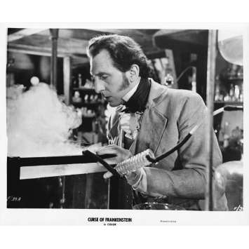 THE CURSE OF FRANKENSTEIN Original Movie Still 39-A - 8x10 in. - R1970 - Terence Fisher, Peter Cushing