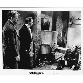 THE CURSE OF FRANKENSTEIN Original Movie Still 71-A - 8x10 in. - R1970 - Terence Fisher, Peter Cushing