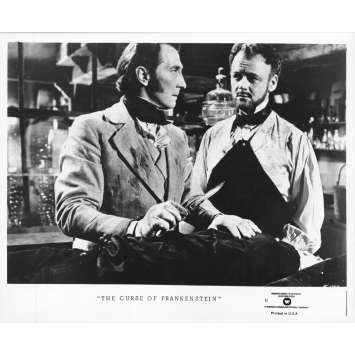 THE CURSE OF FRANKENSTEIN Original Movie Still 44-A - 8x10 in. - R1970 - Terence Fisher, Peter Cushing