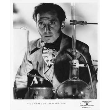 THE CURSE OF FRANKENSTEIN Original TV Still FP-2 - 8x10 in. - R1970 - Terence Fisher, Peter Cushing