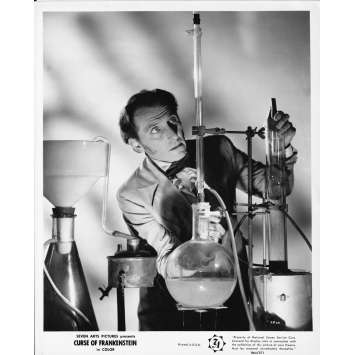 THE CURSE OF FRANKENSTEIN Original Movie Still FP-1A - 8x10 in. - R1970 - Terence Fisher, Peter Cushing