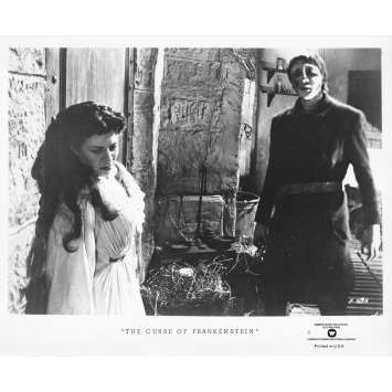 THE CURSE OF FRANKENSTEIN Original TV Still FP-69-A - 8x10 in. - R1970 - Terence Fisher, Peter Cushing
