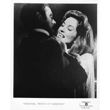 DRACULA PRINCE OF DARKNESS Original TV Still XXX - 8x10 in. - R1970 - Terence Fisher, Christopher Lee