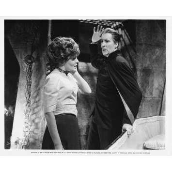 DRACULA HAS RISEN FROM THE GRAVE Original Movie Still N22 - 8x10 in. - R1970 - Freddie Francis, Christopher Lee