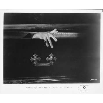 DRACULA HAS RISEN FROM THE GRAVE Original TV Still ART-H - 8x10 in. - R1980 - Freddie Francis, Christopher Lee