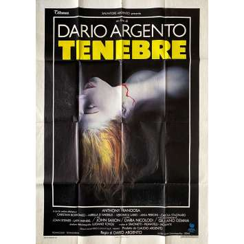 TENEBRES Affiche de film- 100x140 cm. - 1982 - John Saxon, Dario Argento