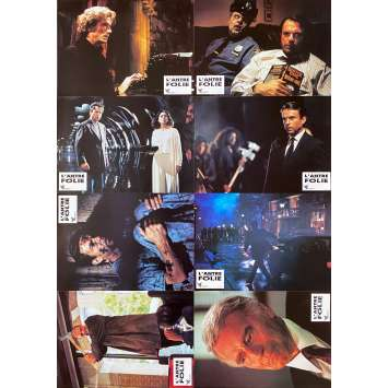 IN THE MOUTH OF MADNESS Original Lobby Cards x8 - 9x12 in. - 1994 - John Carpenter, Sam Neill