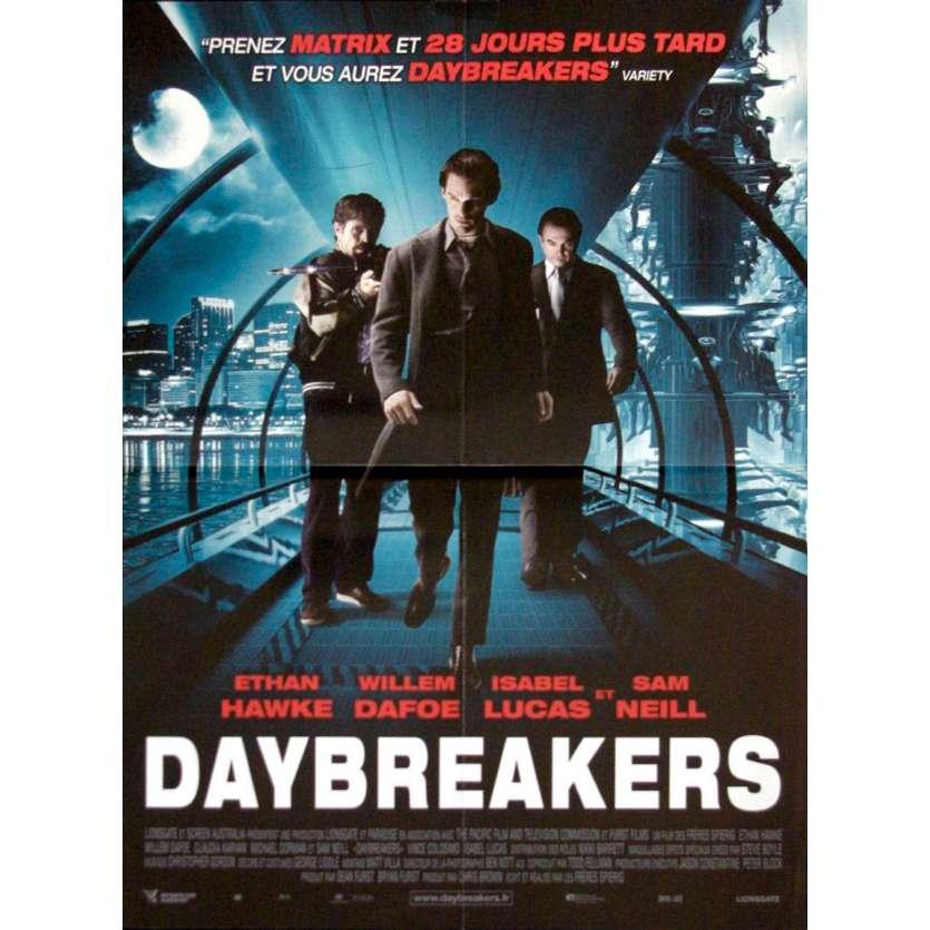 DAYBREAKERS Affiche 40x60 '09 Wilem Dafoe, Sam Neil, Vampire Movie Poster