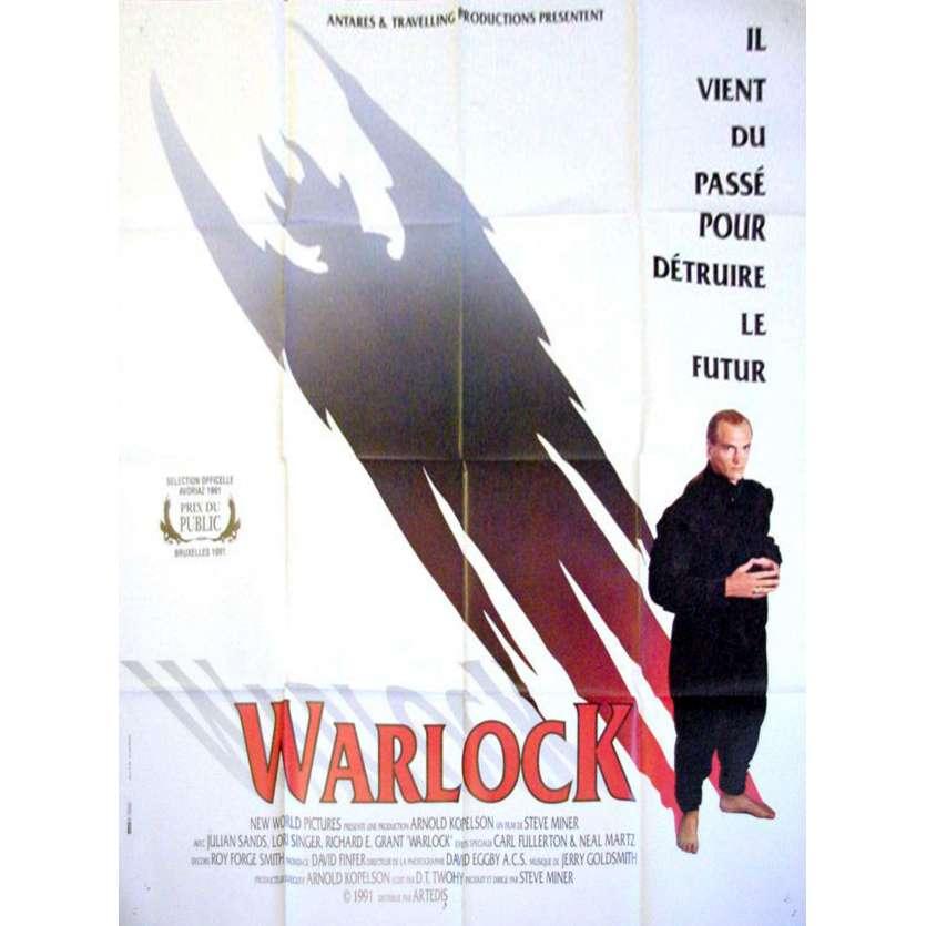 WARLOCK Affiche 120x160 '89 Steve Miner Horror Movie Poster