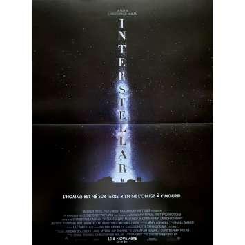 INTERSTELLAR Adv Affiche de film40X60 - 2014 - Matthew McConaughey, Christopher Nolan
